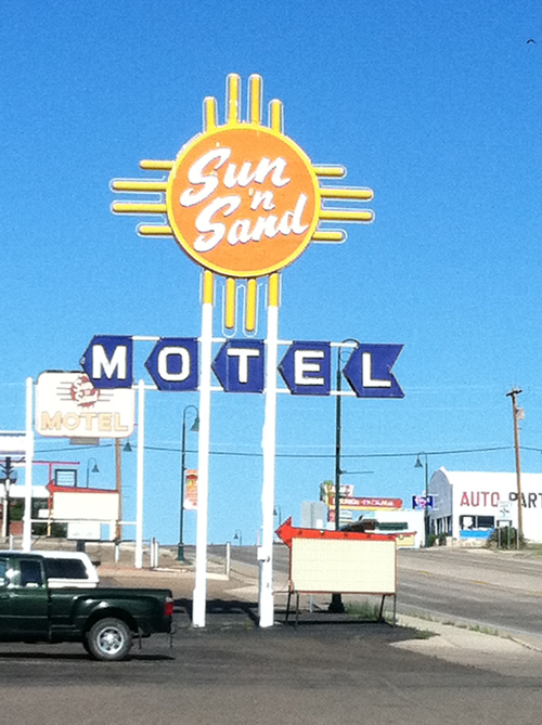 Rooms: Mid-Century Photo Friday: New Mexico Motel Sign