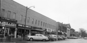 North Side Square ca 1961