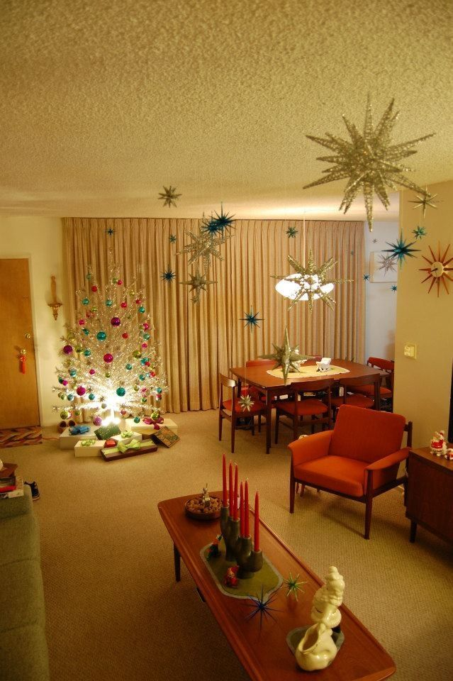 How to decorate for Christmas Retro Style