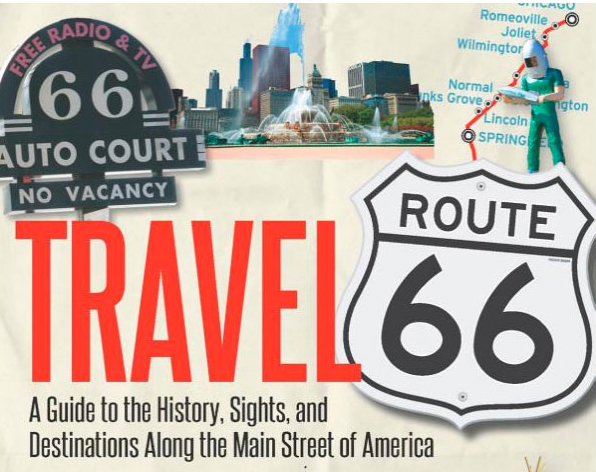"""Travel Route 66  – a handy companion for a trip down the """"Mother Road"""""""