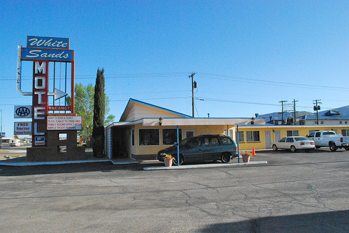 Rooms: Mid-Century Photo Friday: White Sands Motel, Alamogordo, NM