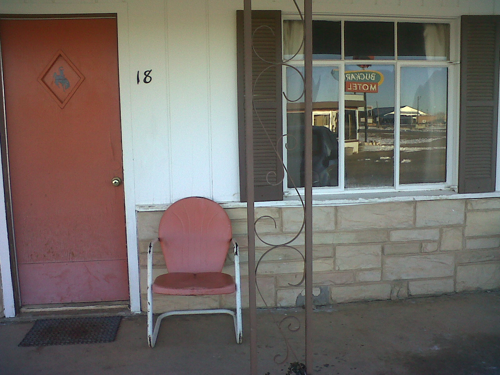 Rooms: Mid-Century Motel: The Buckaroo Motel In Tucamcari NM