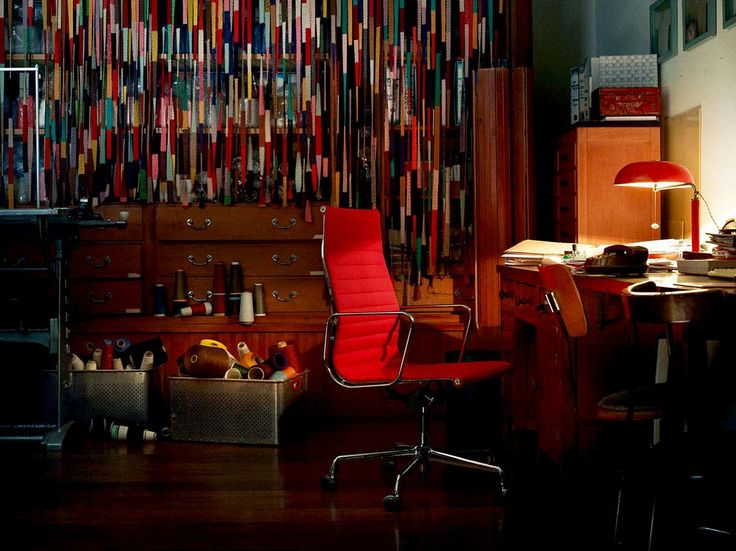 Charles Eames Office Chairs, Such As The Brilliant Eames EA119 Office Chair  Above.